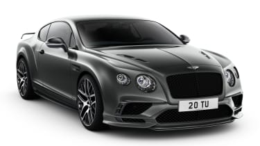Bentley Continental Supersports 2017 - official front quarter 2