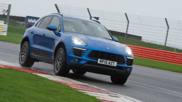 Long-term test review: Porsche Macan - front cornering
