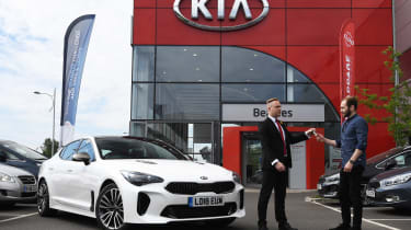 Kia Stinger long-term test: first report - header