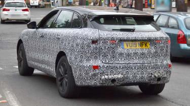 2020 Jaguar F-Pace spied - rear