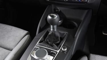 Audi A3 vs Volvo V40 vs Volkswagen Golf - A3 centre console