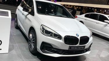 BMW 225xe - Geneva front