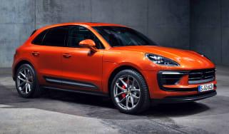 Porsche Macan S - front