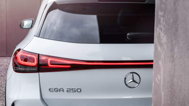 Mercedes EQA - rear light