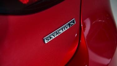 Mazda 3 Skyactiv-X long termer - first report badge