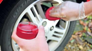 Wheel Waxes tested