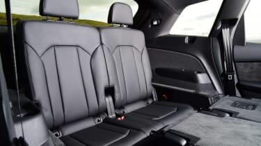 Used Audi Q7 - back seats