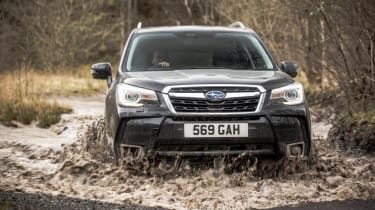 Used Subaru Forester - front off-road