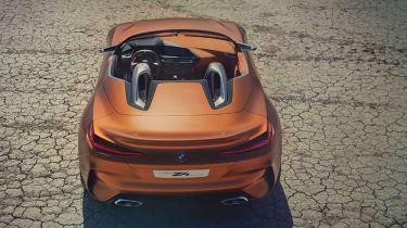 BMW Concept Z4 leaked - full rear