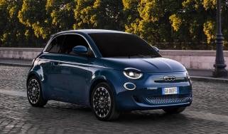 Fiat 500e - front