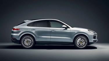 Porsche Cayenne S Coupe - side