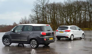 Fiat 500L MPW vs Kia Carens