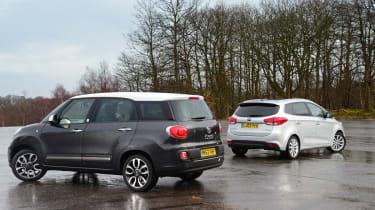 Fiat 500L MPW vs Kia Carens
