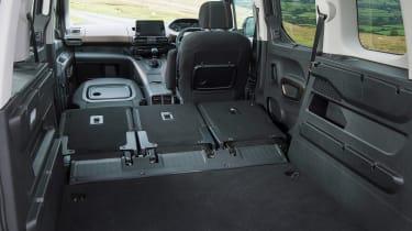 Peugeot Rifter Allure BlueHDI diesel folded seats