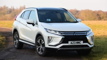 Mitsubishi Eclipse Cross - front/side static