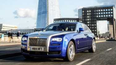 Rolls-Royce Ghost - Footballers' cars
