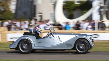 Morgan Plus Six - Goodwood run 2019