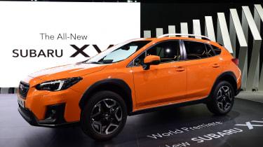 New Subaru XV SUV Geneva - front