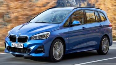 BMW 2 Series Active Tourer blue front