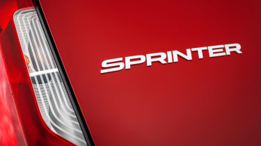 Mercedes Sprinter - rear badge