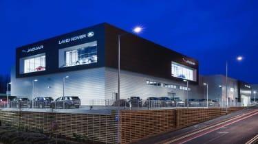 JLR rebranding - Stockport dealer