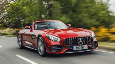 Mercedes-AMG GT C Roadster - front