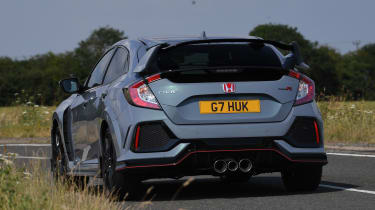 Honda Civic Type R - rear cornering