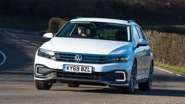 Volkswagen Passat GTE - front cornering