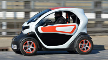 Best cheap fuel efficient cars - Renault Twizy