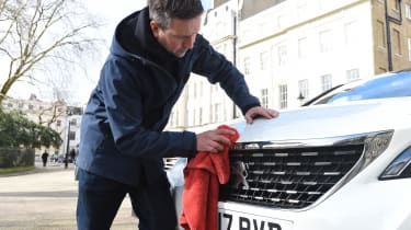 Peugeot 3008 long-term test - cleaning
