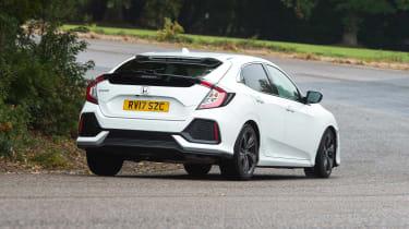 Honda Civic - rear cornering