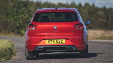 SEAT Ibiza facelift - rear cornering