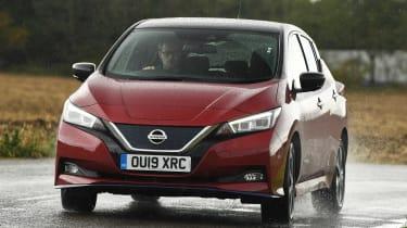 Nissan Leaf - front cornering