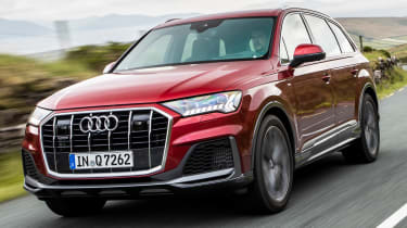 Audi Q7 55 TFSI - front tracking