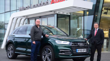 Audi Q5 PHEV long-termer - first report header