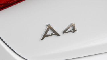 Audi A4 TDIe badge