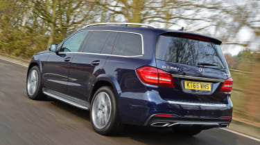 Mercedes GLS 350d AMG 2016 - rear tracking