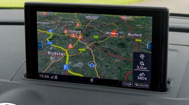 Audi A3 TFSI 2016 - navigation
