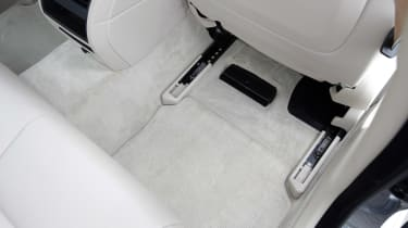 Used BMW 5 Series - footwell