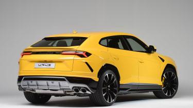Lamborghini Urus - studio rear