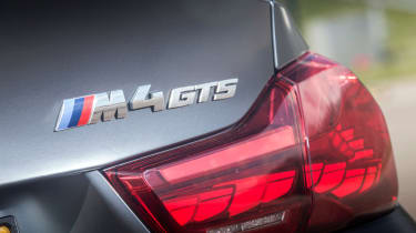BMW M4 GTS UK 2016 - rear light