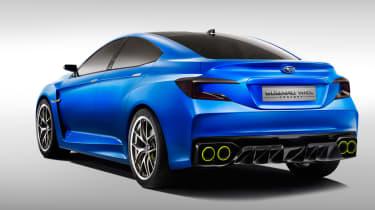 Subaru WRX STi concept rear three-quarters