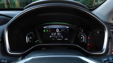 Honda CR-V hybrid - dials