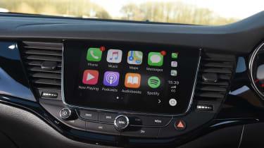 Vauxhall Astra diesel - infotainment