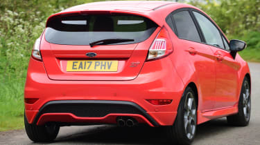 Ford Fiesta ST 5-door - rear