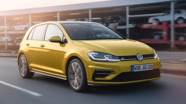New 2017 Volkswagen Golf - front