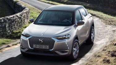 DS 3 Crossback E-Tense - above
