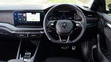 Skoda Octavia vRS diesel - dash