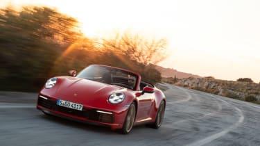 New Porsche 911 Cabriolet 2019 corner