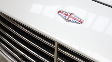 David Brown Automotive badge